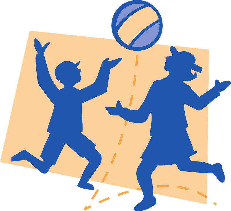 Funny cliparts shop of. Volleyball clipart design