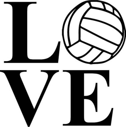 Tcis athletics blog . Volleyball clipart frame