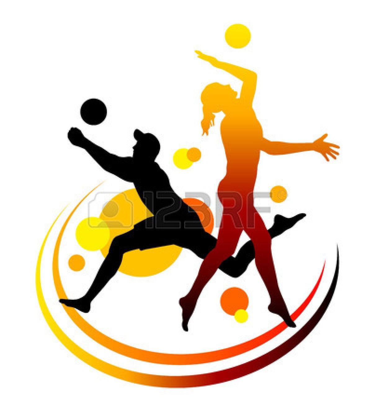 Volleyball clipart gambar. Beach clip art panda
