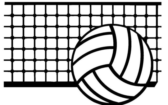 Tuesday area scores kfor. Volleyball clipart high school volleyball