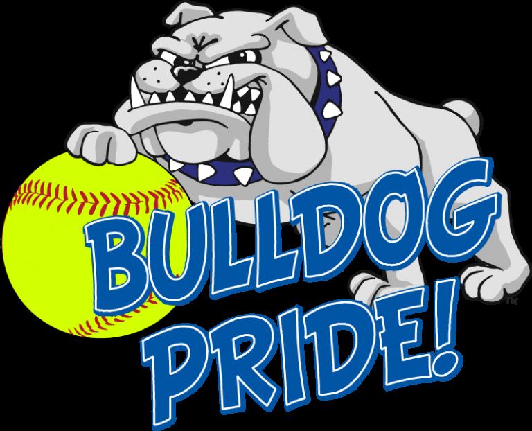 Softball south suburban college. Volleyball clipart lady bulldog