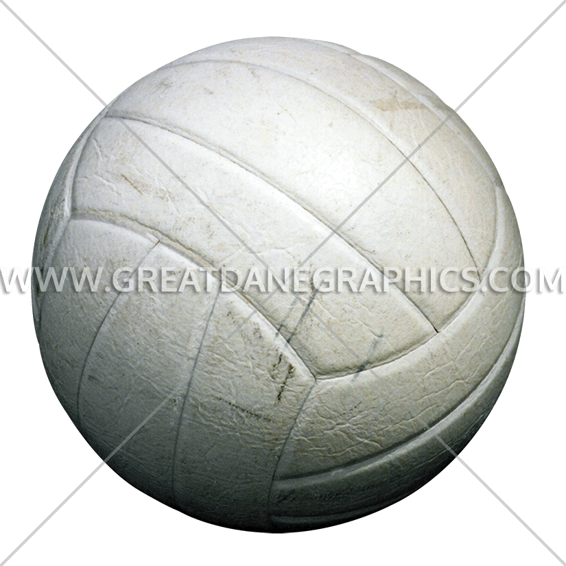 Volleyball clipart line. Production ready artwork for