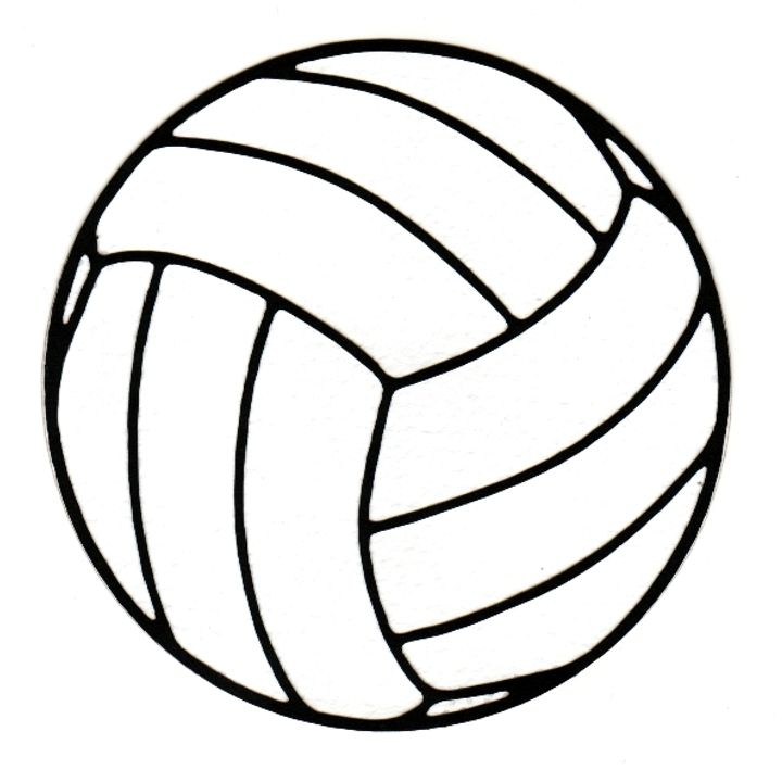 Volleyball clipart line art. Images free download clip