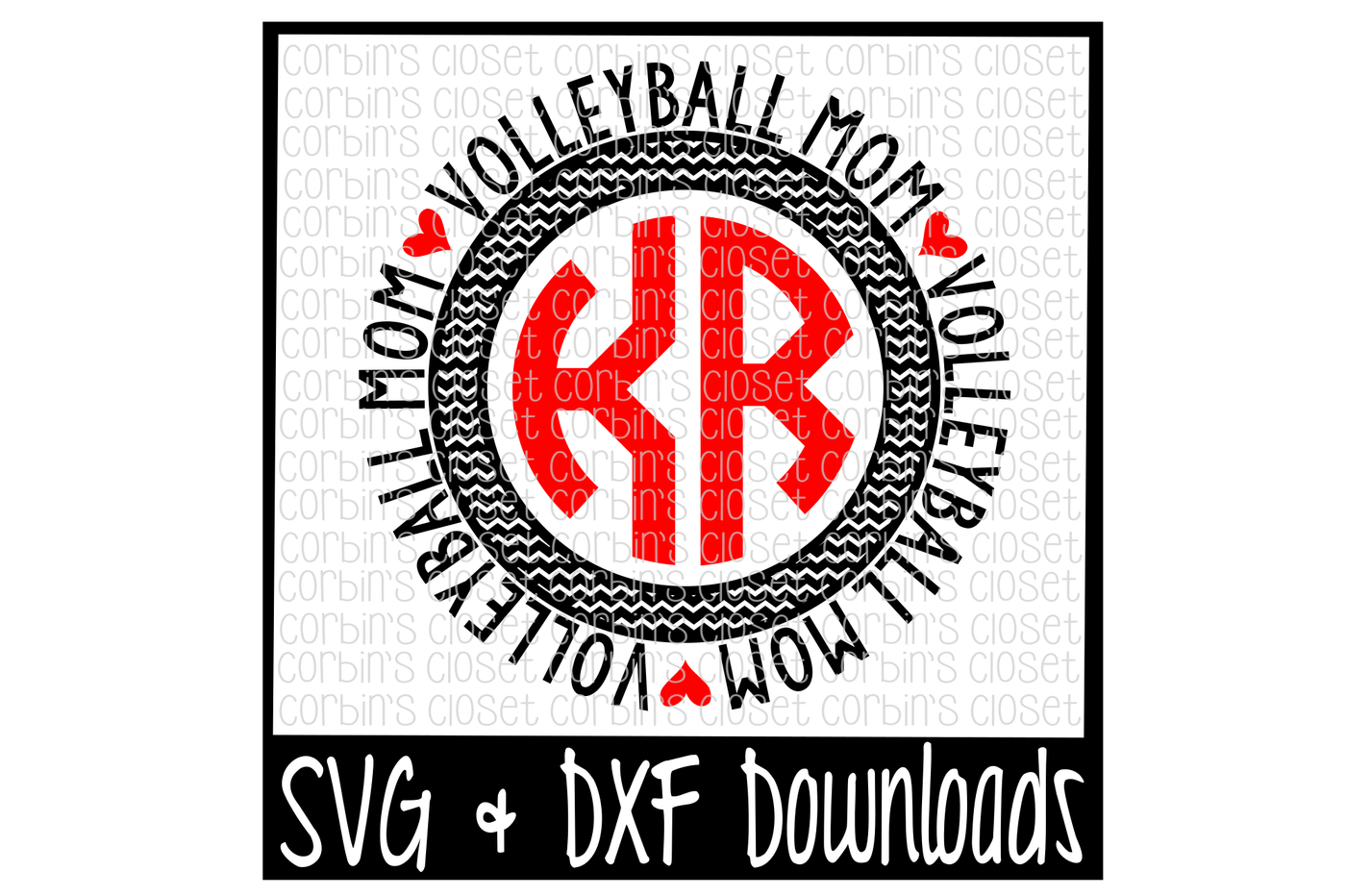 Volleyball clipart monogram. Mom svg circle by
