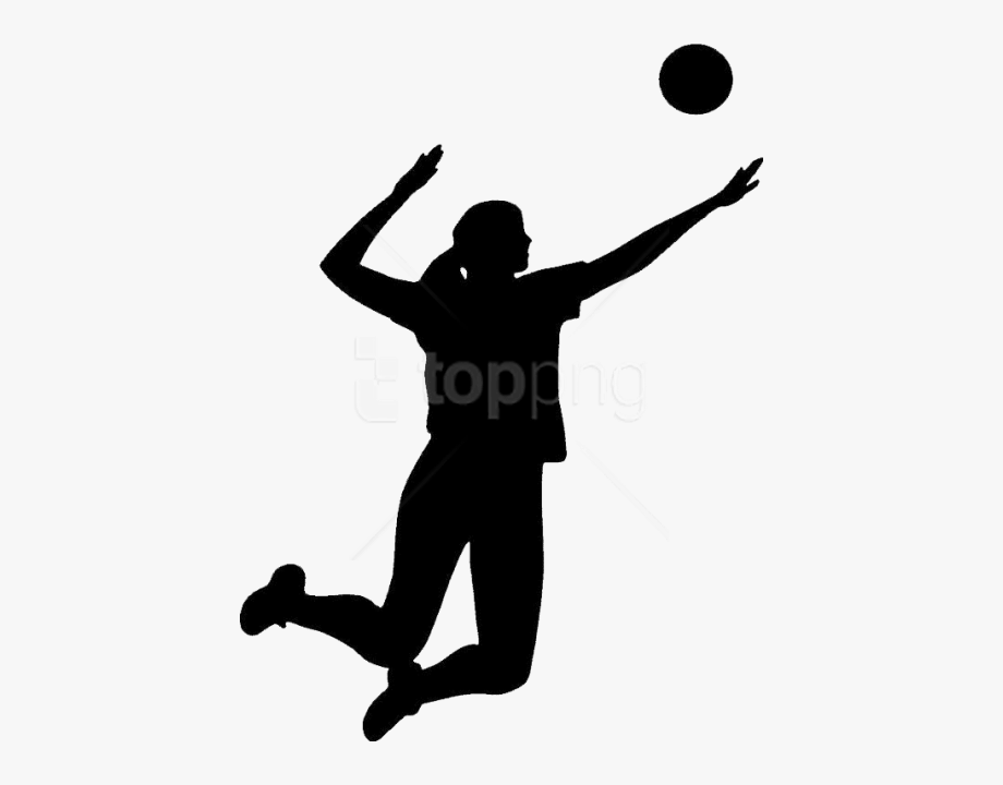 Volleyball clipart person. Block player png