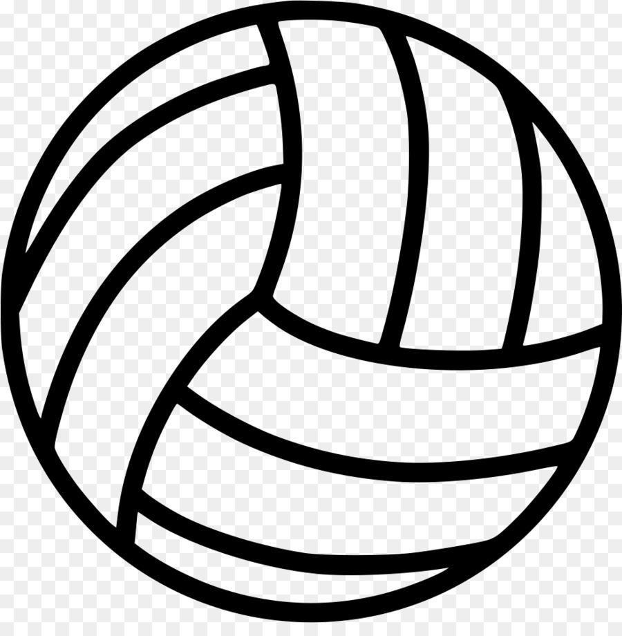 Free transparent download clip. Volleyball clipart simple