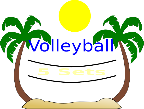 Volleyball clipart summer. Free cliparts download clip