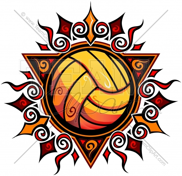 Cliparts making the web. Volleyball clipart summer