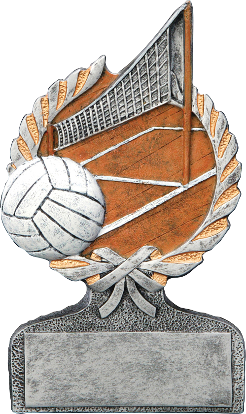 Volleyball clipart trophy. Centurion figure resin