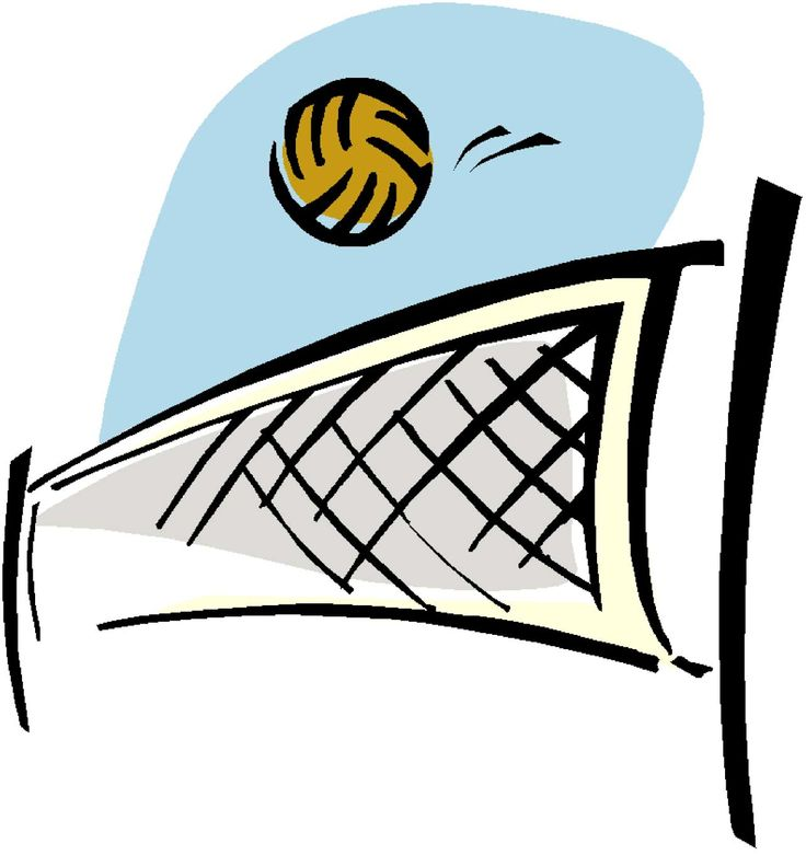 image about clip. Volleyball clipart vintage
