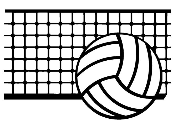 Download and . Volleyball clipart volleyball net