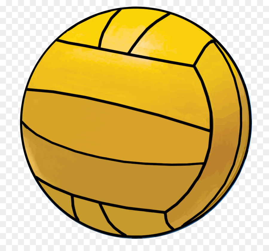 Volleyball clipart yellow. Ball polo transparent