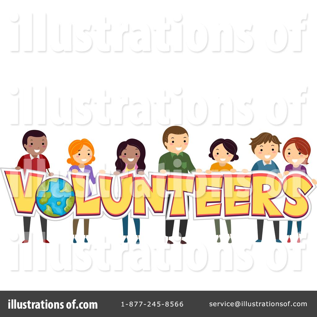 Volunteer clipart. Illustration by bnp design