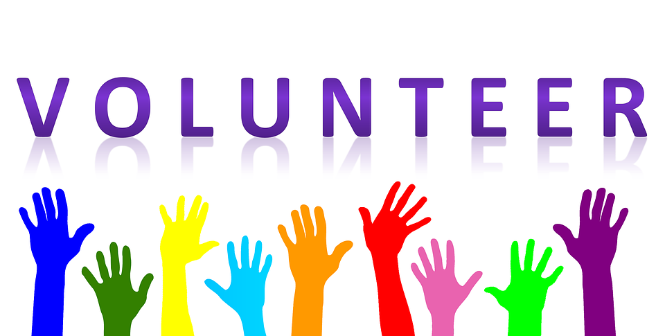 Volunteering clipart. National month four reasons