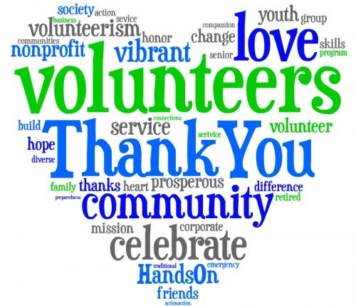 National volunteers week th. Volunteering clipart