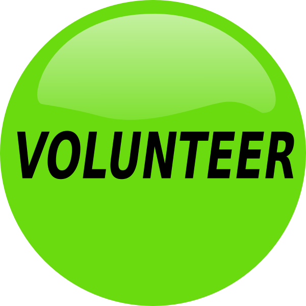 Free volunteer word cliparts. Volunteering clipart banner