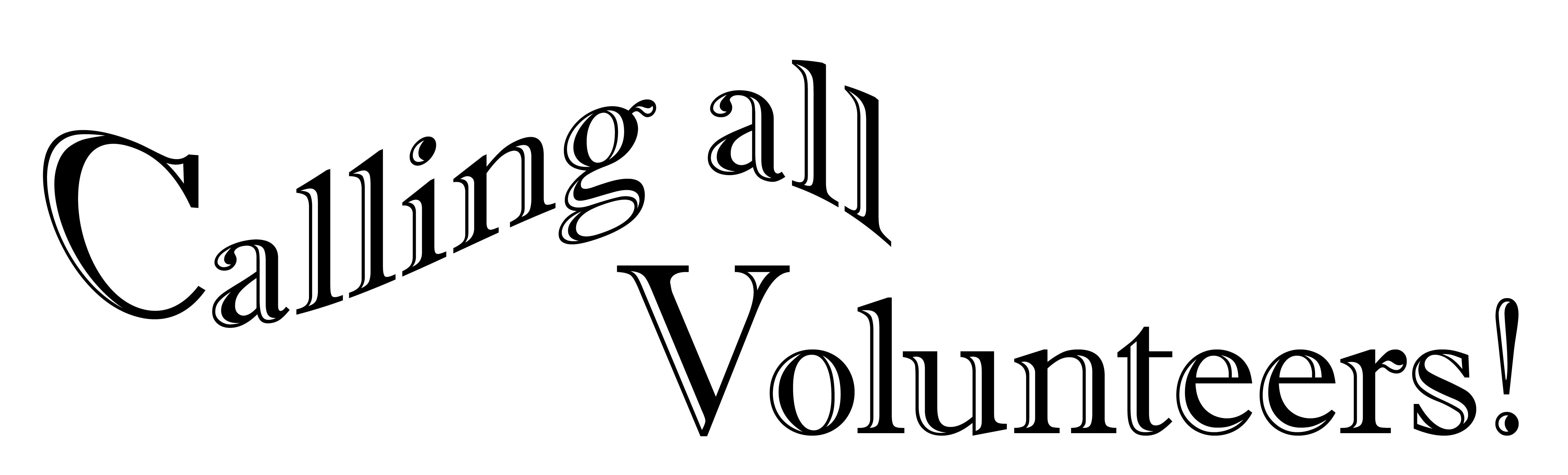 Volunteer flyer pdf two. Volunteering clipart calling all