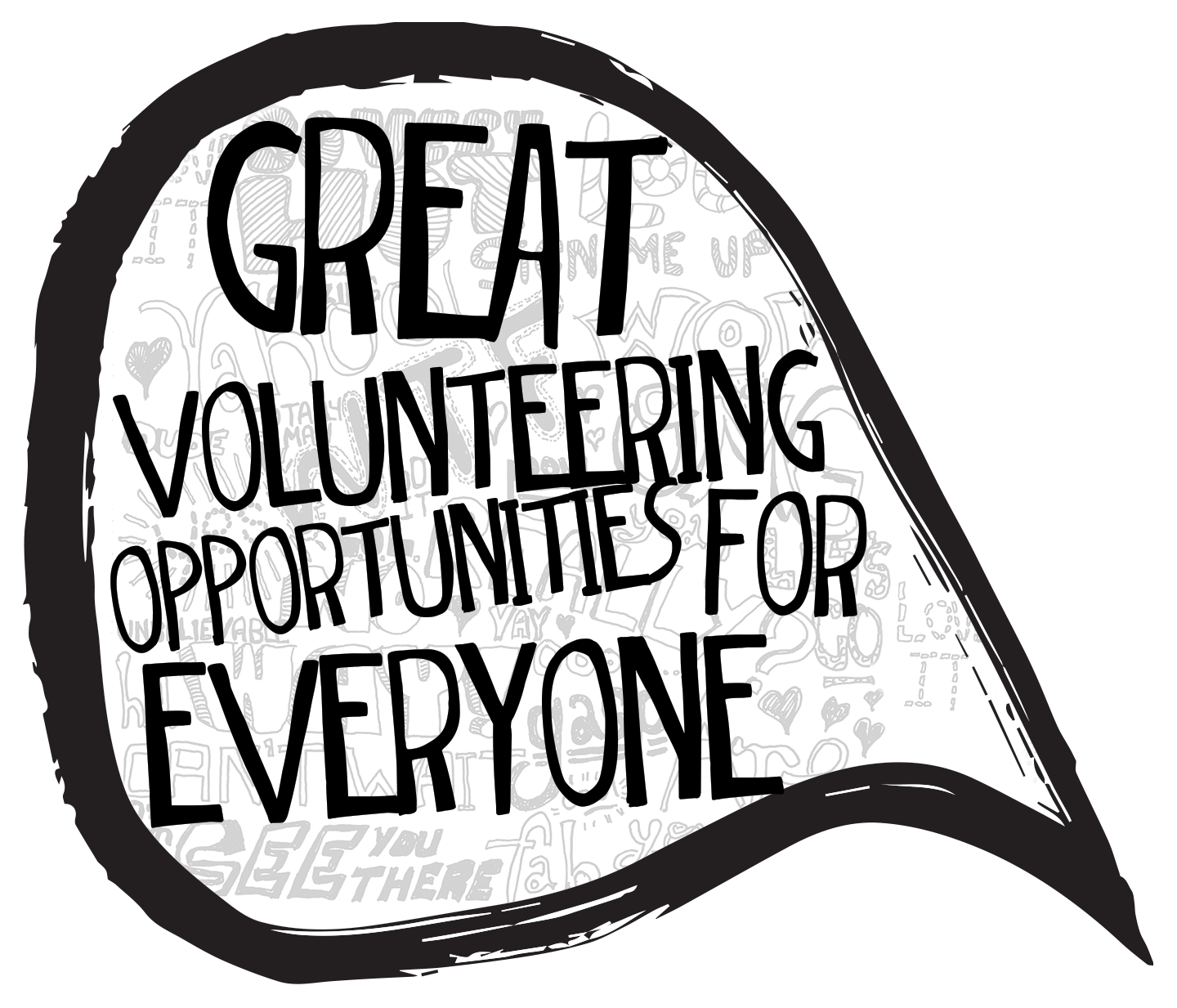 Volunteer wordfest join our. Volunteering clipart charity work