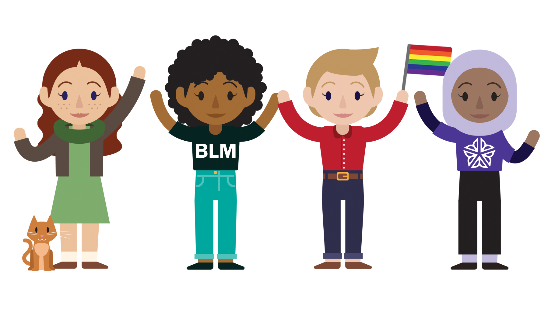Volunteering clipart ethnic group. Womxn can change the