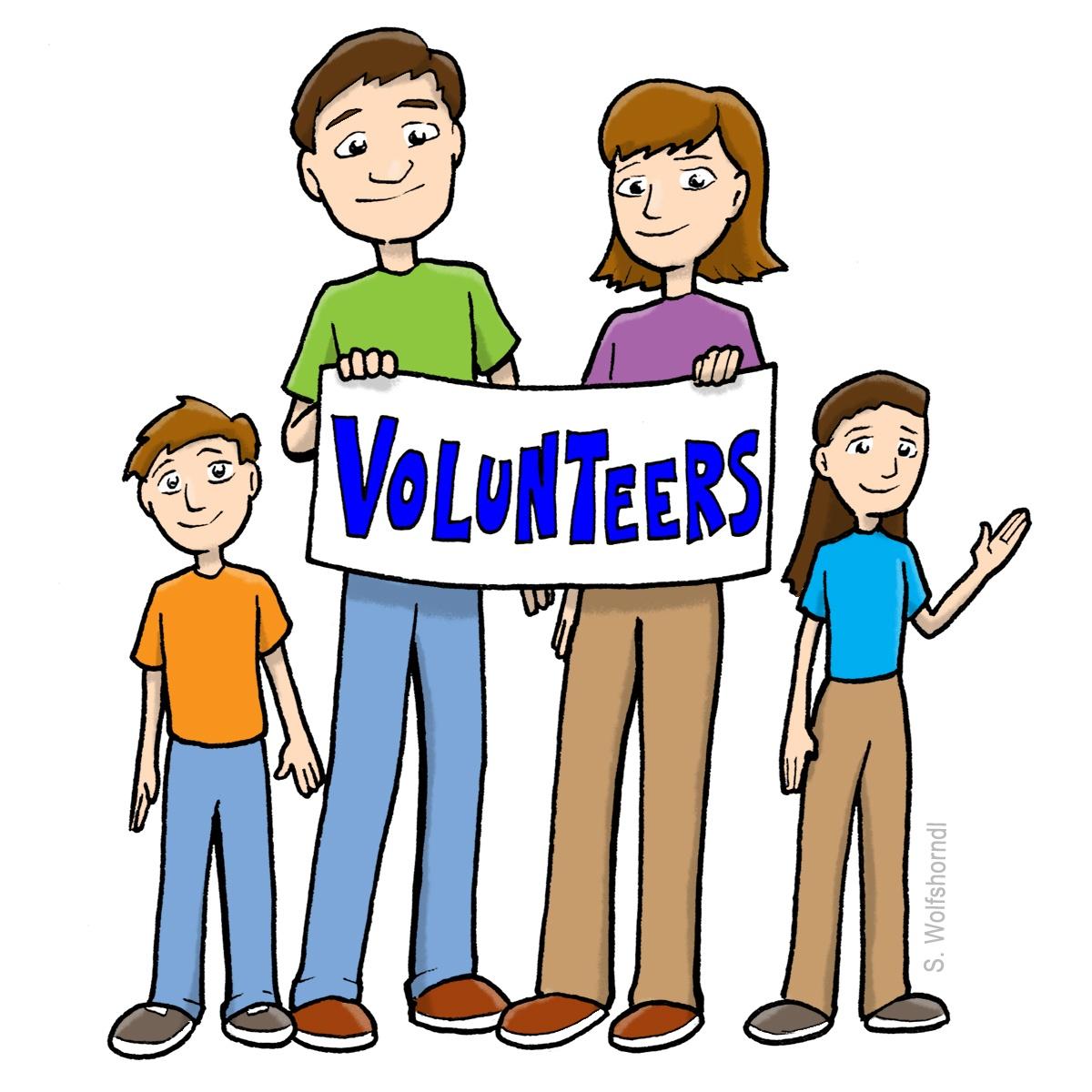 Volunteer images free download. Volunteering clipart ethnicity