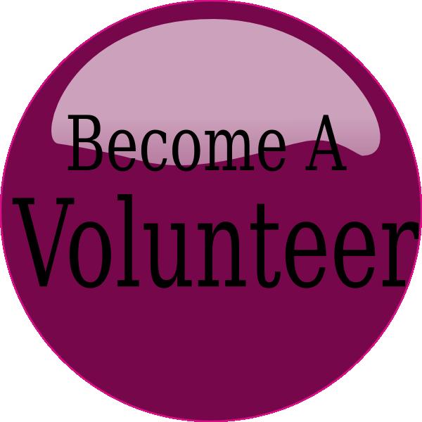 Volunteering clipart gardening. Become a volunteer purple
