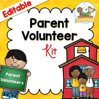 Volunteering clipart kindergarten. Parent volunteer kit for
