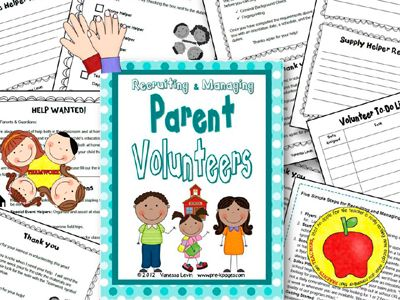 Volunteering clipart kindergarten. Parent volunteer kit communication