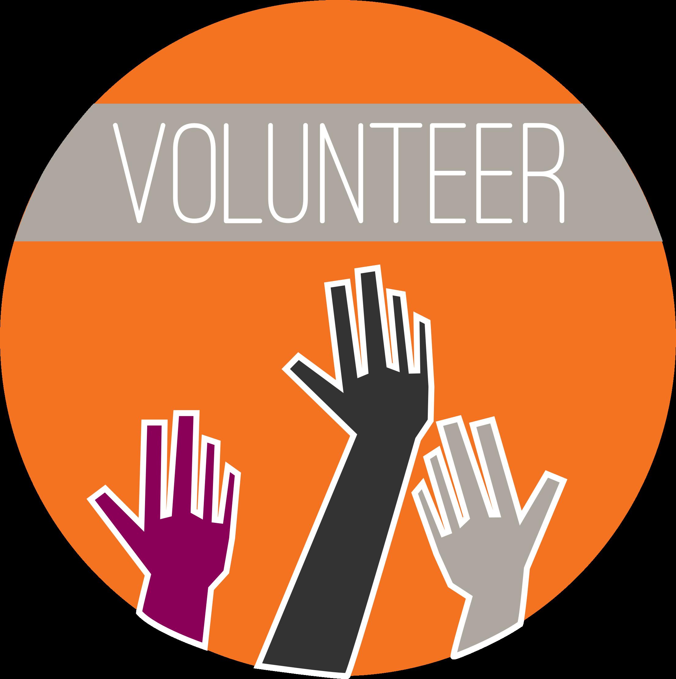 Volunteering clipart logo. Round big image png