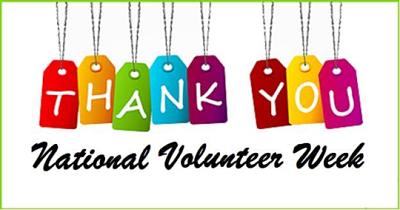 April is nat l. Volunteering clipart month