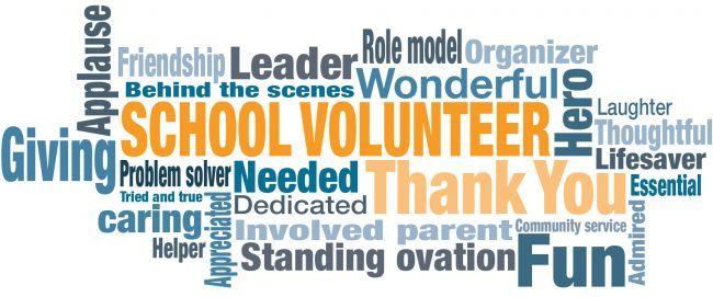 Volunteering clipart pto. School volunteer appreciation word