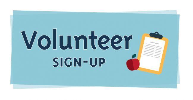 Volunteering clipart pto. Volunteer sign up clip
