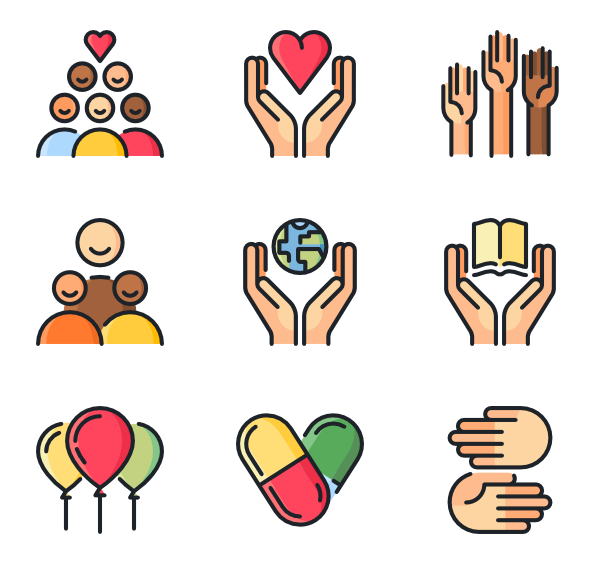 Volunteering clipart solidarity.  help icon packs