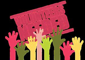 Volunteers needed for upcoming. Volunteering clipart supporter