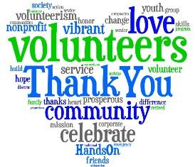 Volunteering clipart thank you volunteers. Volunteer clip art the