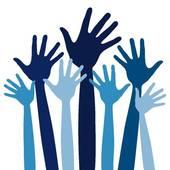 Volunteering clipart volunteer hand. Free download best