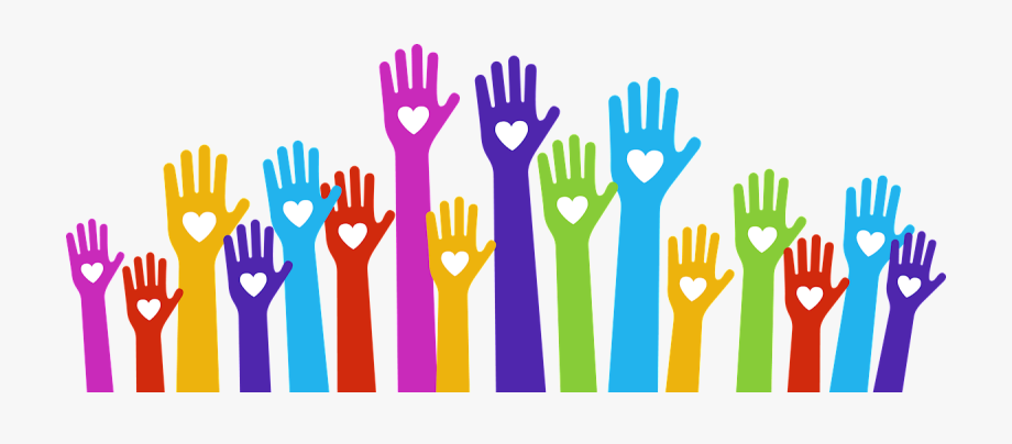 Volunteering clipart volunteer hand. Community action partnership of