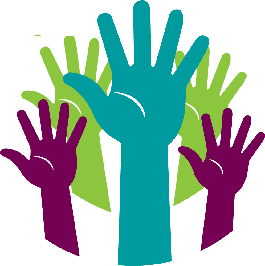 Impact e the family. Volunteering clipart volunteer hand