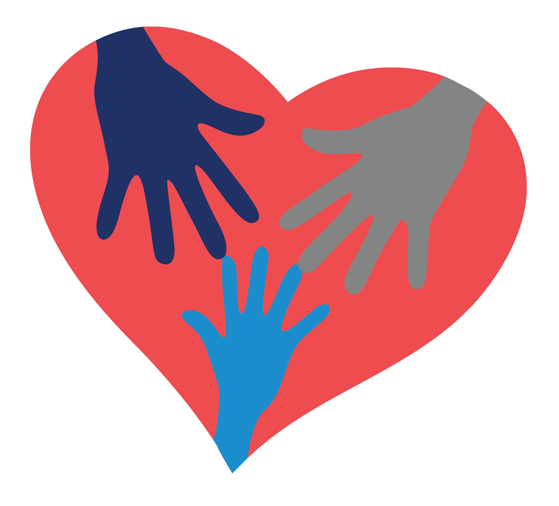 Jcs home community support. Volunteering clipart volunteer heart
