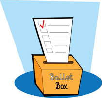 Free clip art pictures. Voting clipart