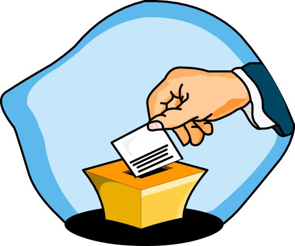 collection of vote. Voting clipart