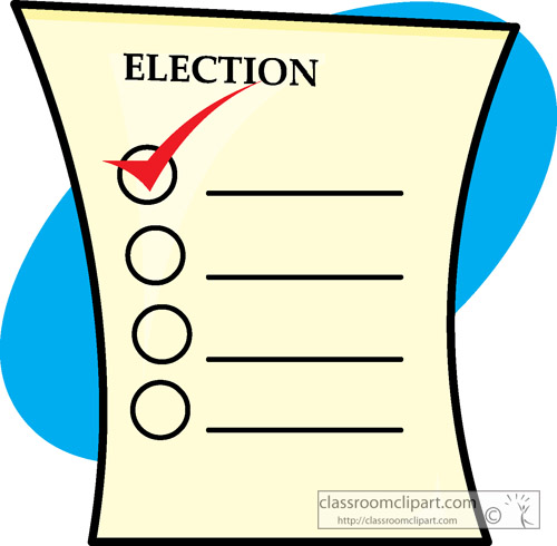 Boise county connection. Voting clipart