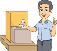 Voting clipart. Clip art vote panda