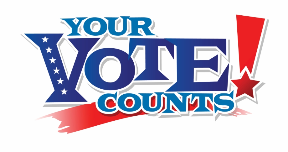 Your vote counts free. Voting clipart banner