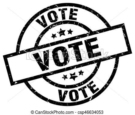 Portal . Voting clipart black and white