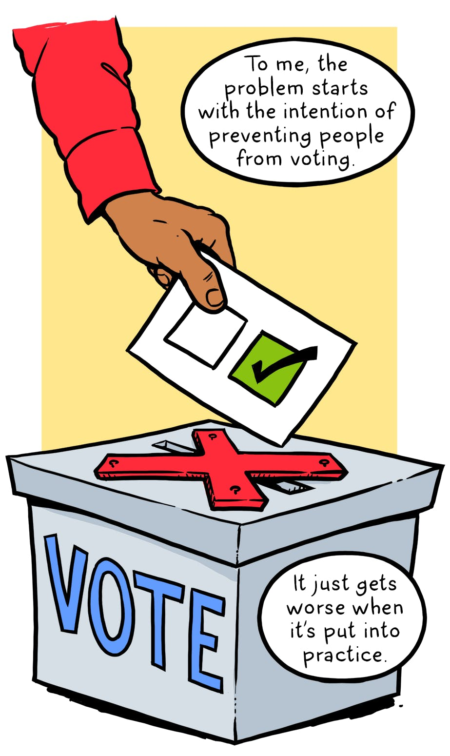 Voting clipart democratic right. The rights act was