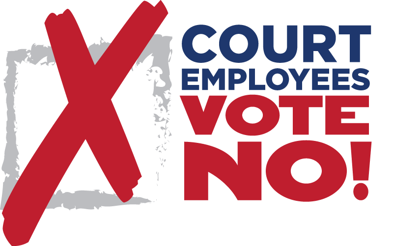 Voting clipart district court. Employees vote no supreme
