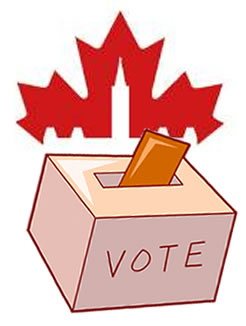 Voting clipart election canadian. The case for a