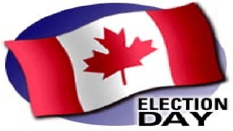 Day free download best. Voting clipart election canadian