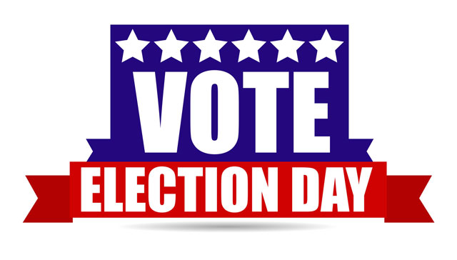 Voting clipart election day. Split across two days