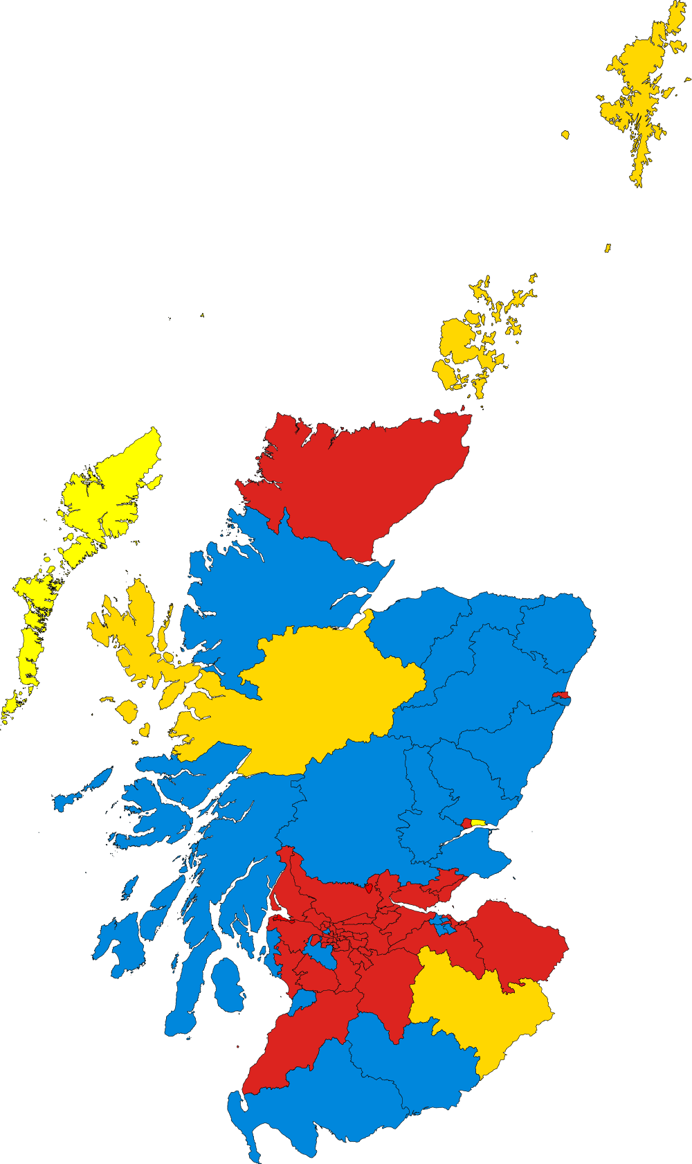 How scotland voted in. Voting clipart general election
